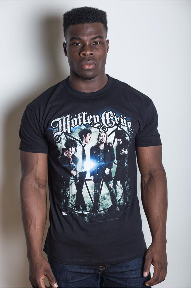 Motley Crue - Group Photo (Black)