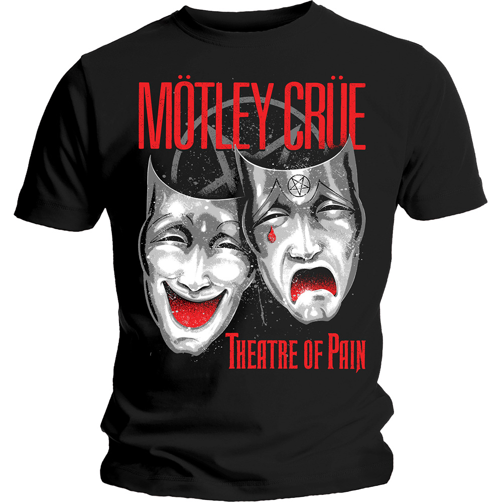 Motley Crue - Theatre Of Pain (Black)