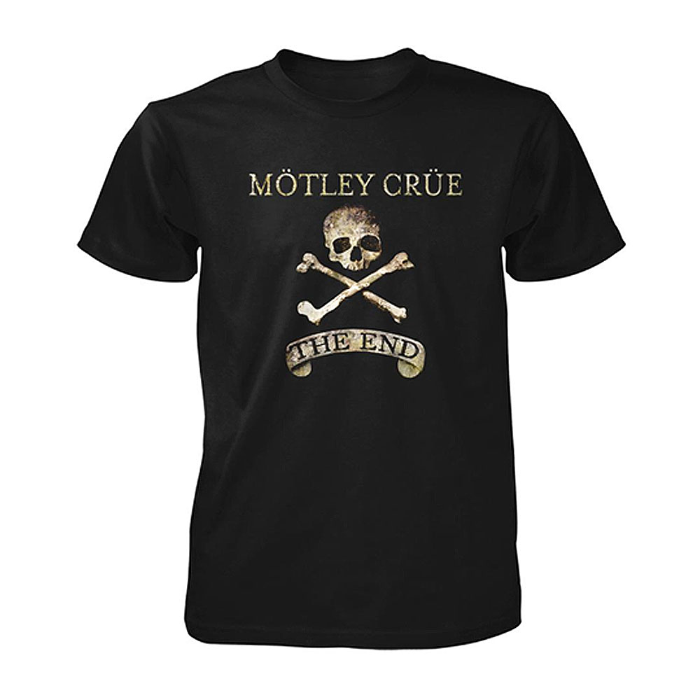 Motley Crue - The End (Black)