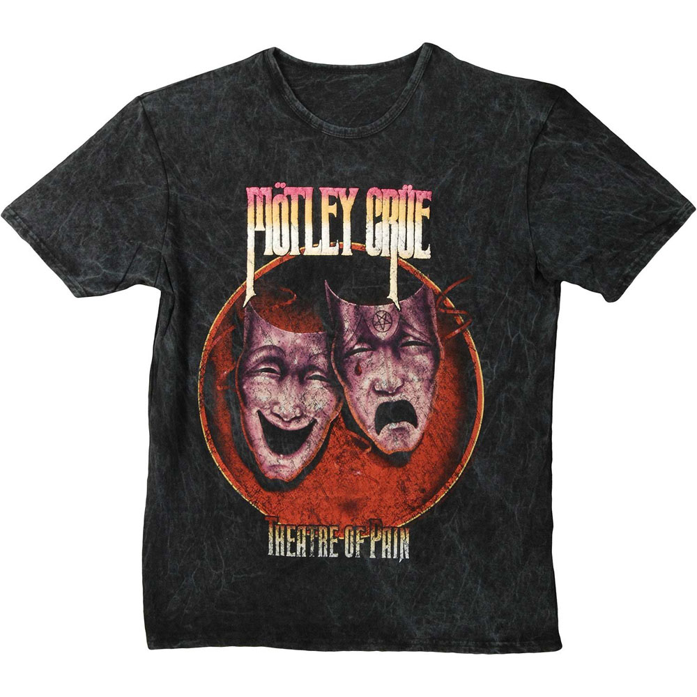 Motley Crue - Theatre Of Pain (Puff Print)