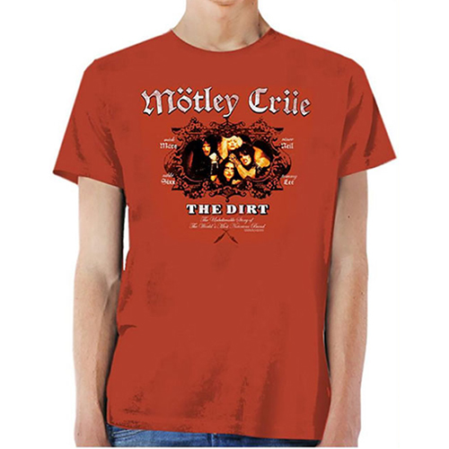 Motley Crue - The Dirt (Vintage Red)
