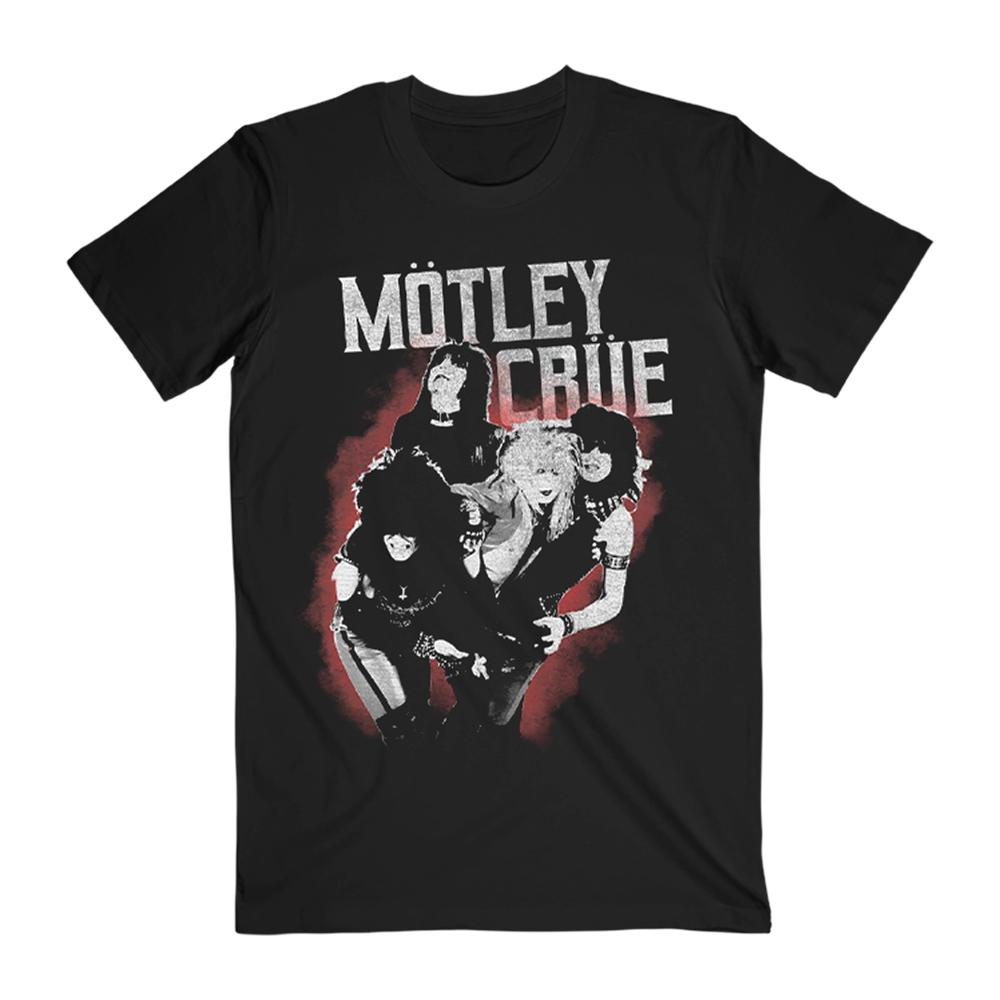 Motley Crue - Red Smoke Group Tee