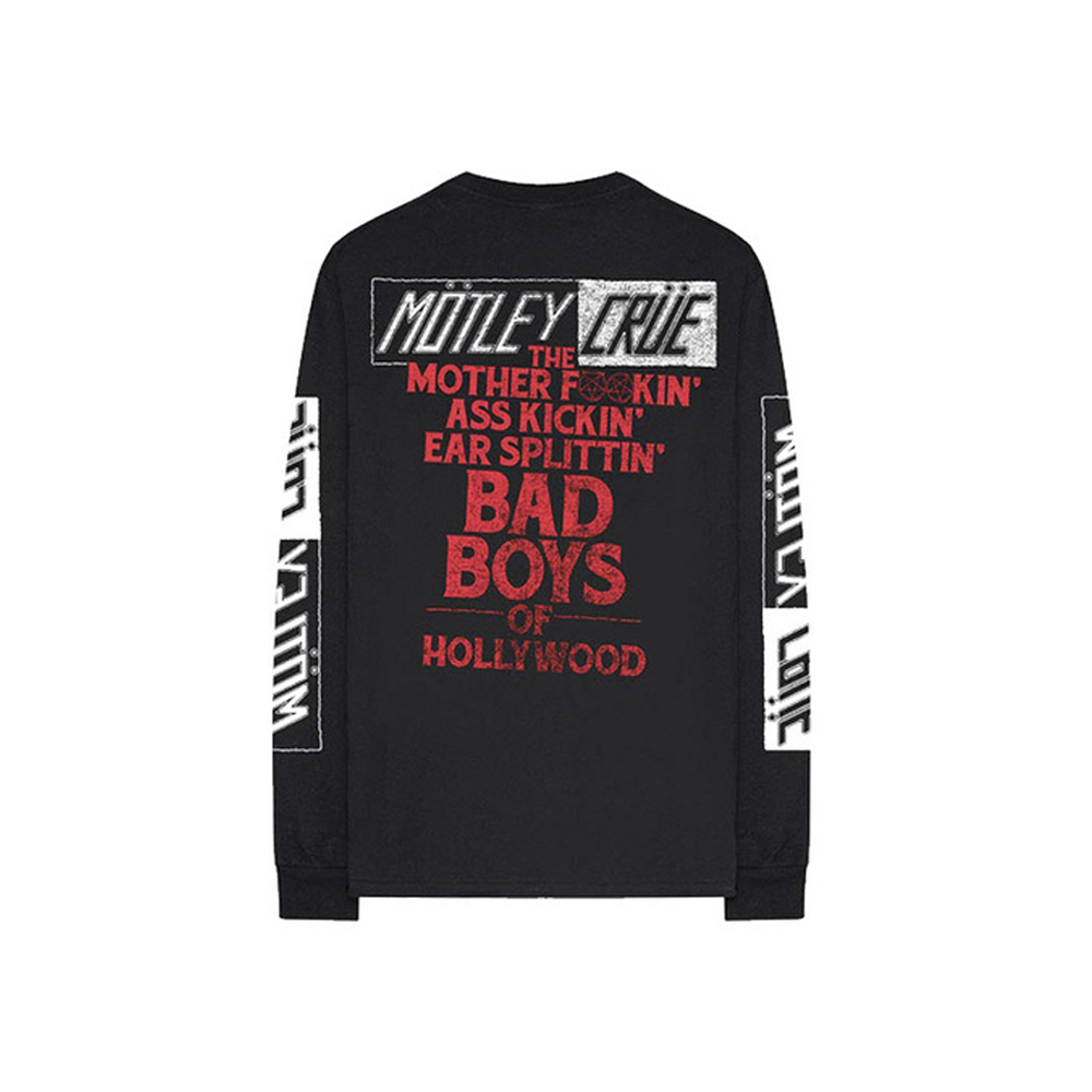 Motley Crue - MOFO Bad Boys Long Sleeve Tee