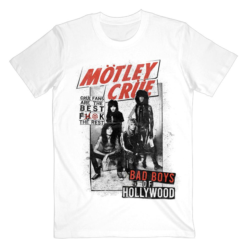 Motley Crue - Motley Crue Fans Are The Best White Tee