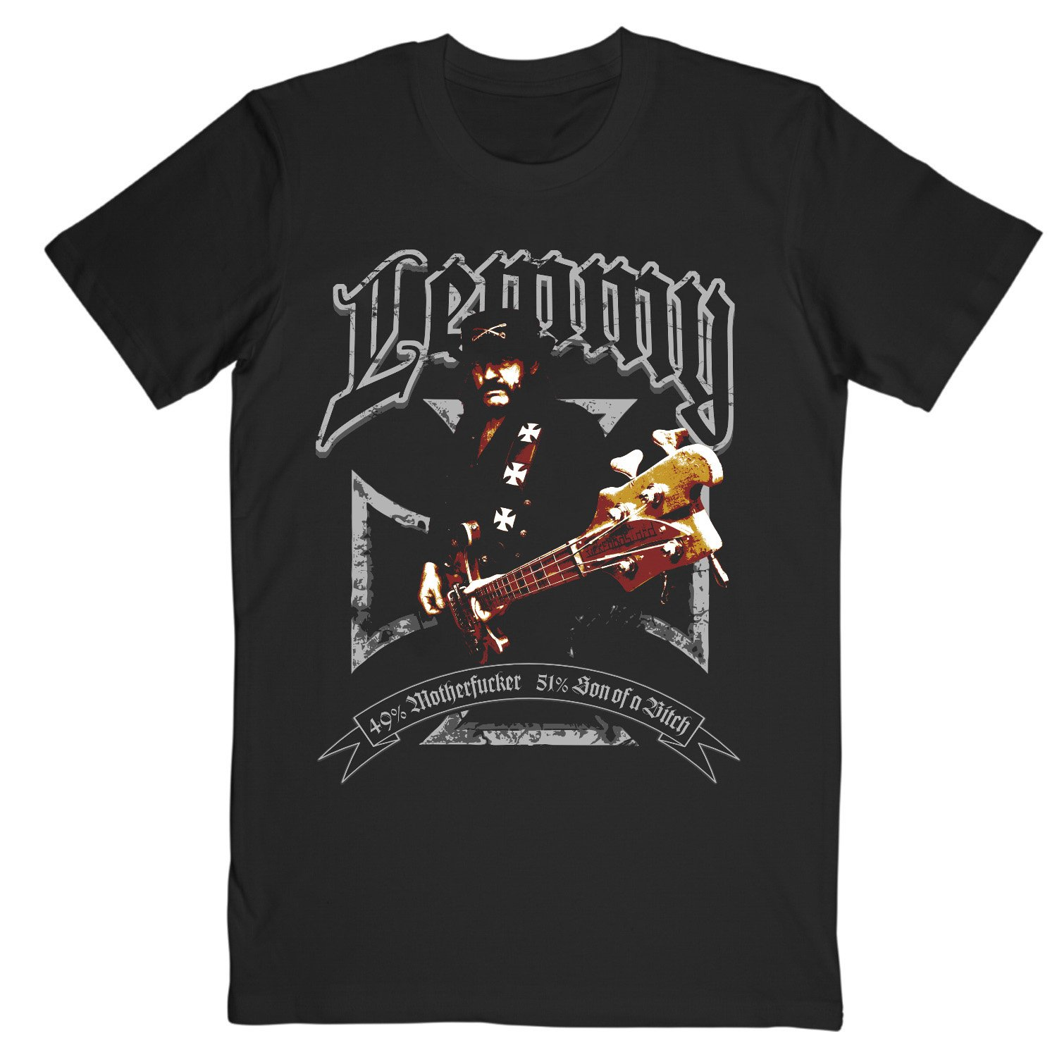 Motorhead - Lemmy Iron Cross Tee