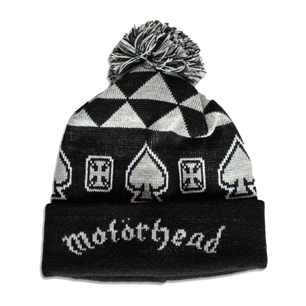 Motorhead - Aces Winter Bobble Hat
