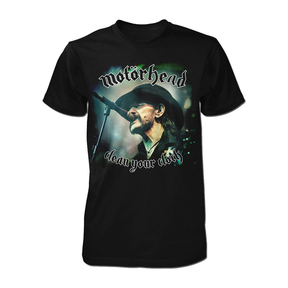 Motorhead - Clean Your Clock [Lemmy] (Black)