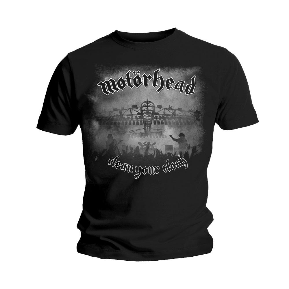 Motorhead - Clean Your Clock [Bomber] (Black)