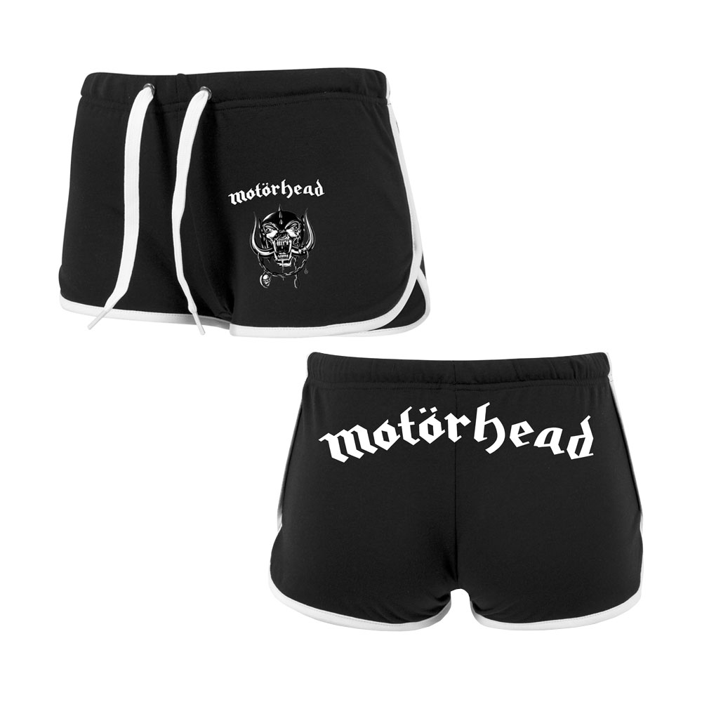 Motorhead - Motorhead Logo French Terry Hotpants