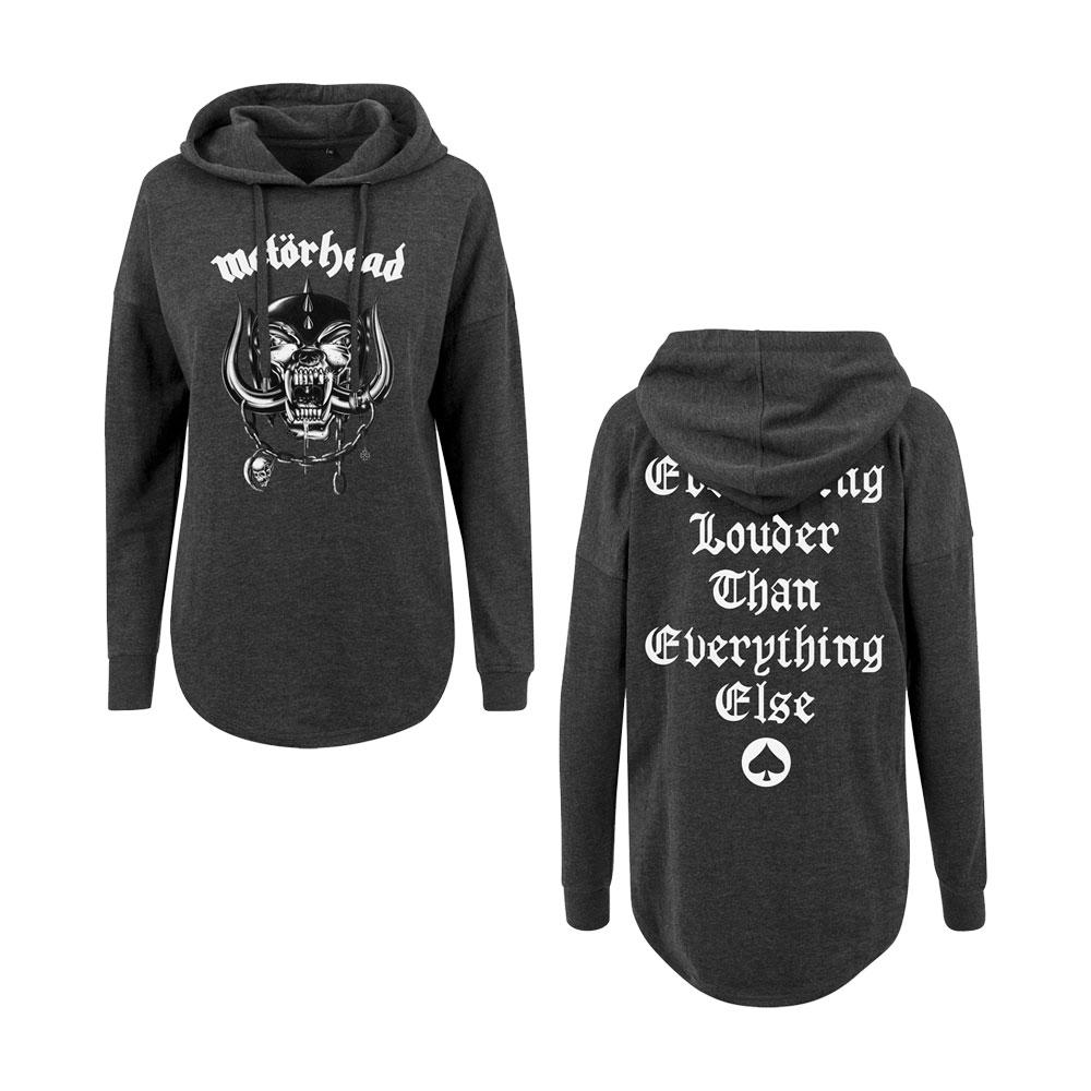 Motorhead - Everything Louder Oversized Hoodie