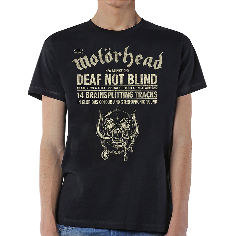 Motorhead - Deaf Not Blind (Black)
