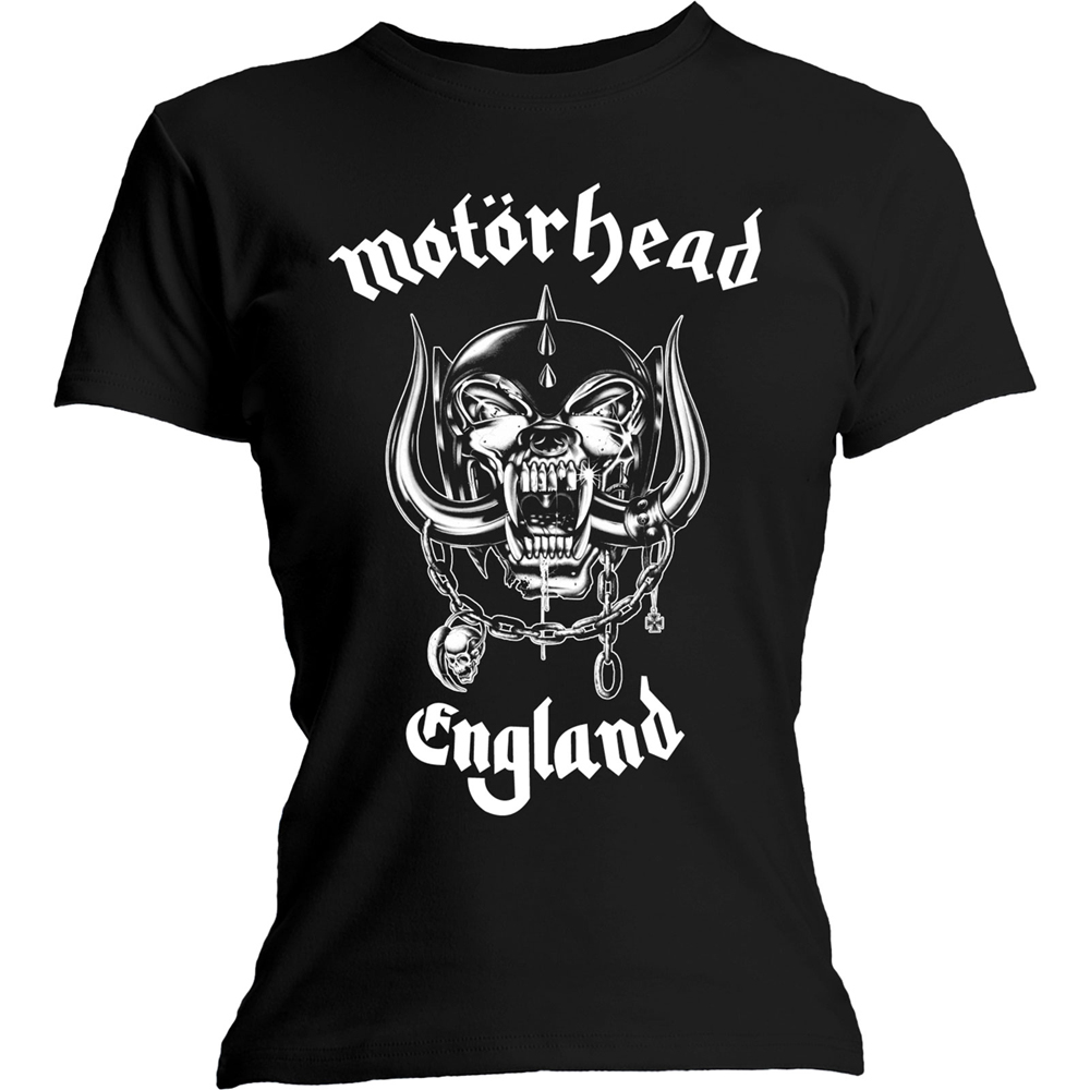Motorhead - England (With Back Print) (Ladies)