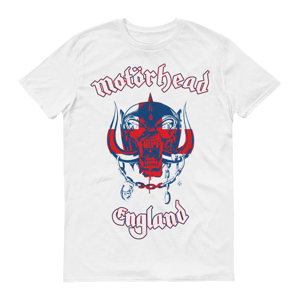 Motorhead - England World Cup (White)