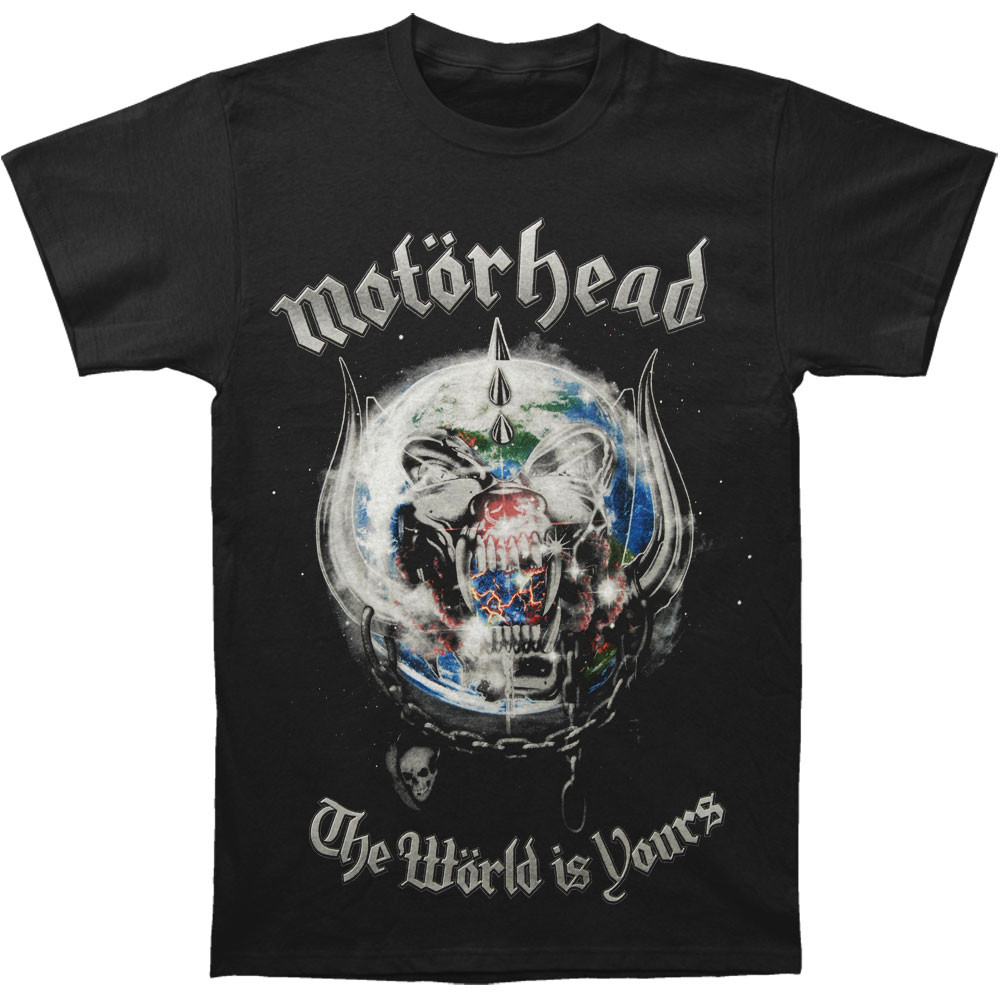 Motorhead - The World Is Your (Black)