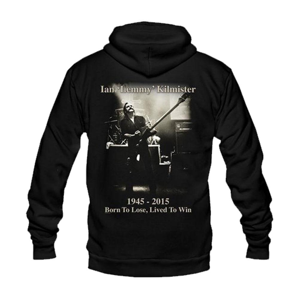Motorhead - Lemmy Lived to Win Hoodie