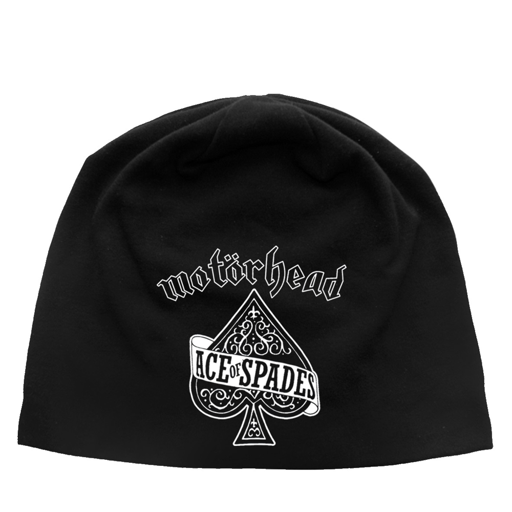 Motorhead - Ace Of Spades Discharge Beanie
