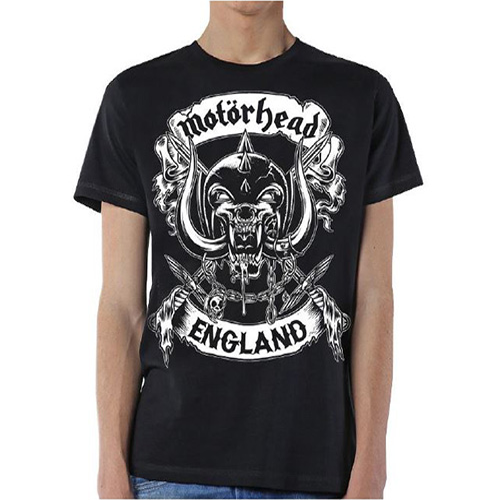 Motorhead - Crossed Swords England Crest