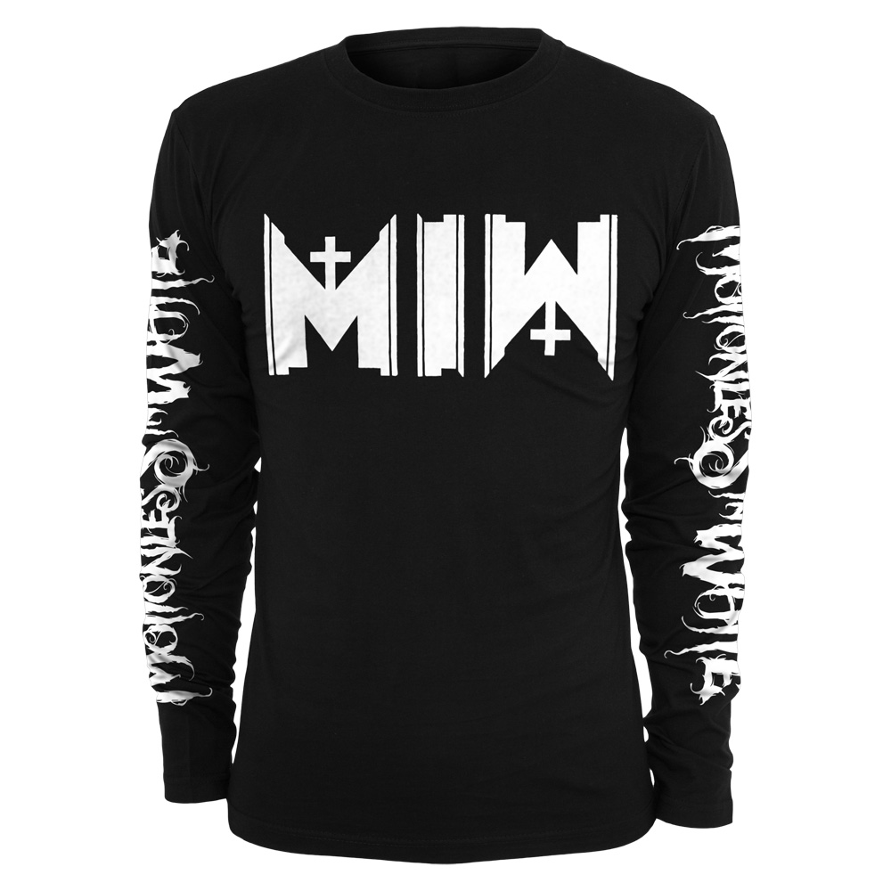 Motionless In White - MIW Logo (Black)