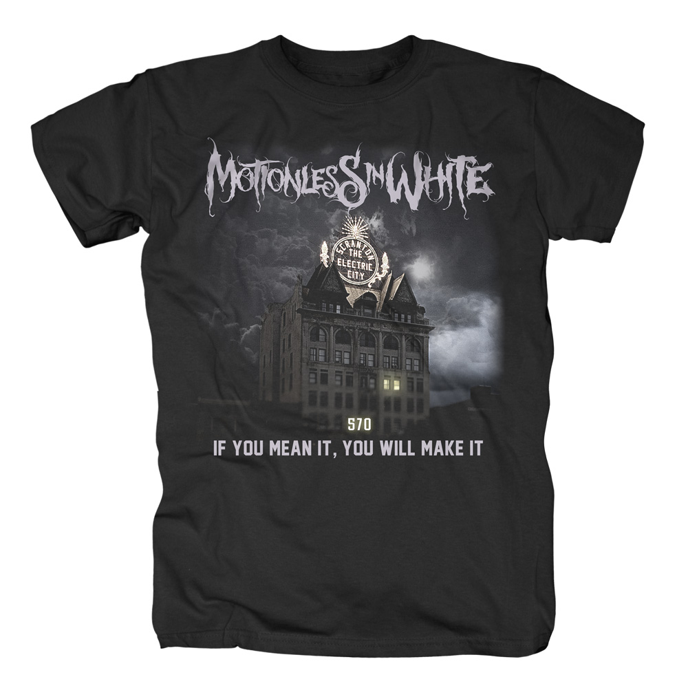 Motionless In White - The End Is Here (Black)