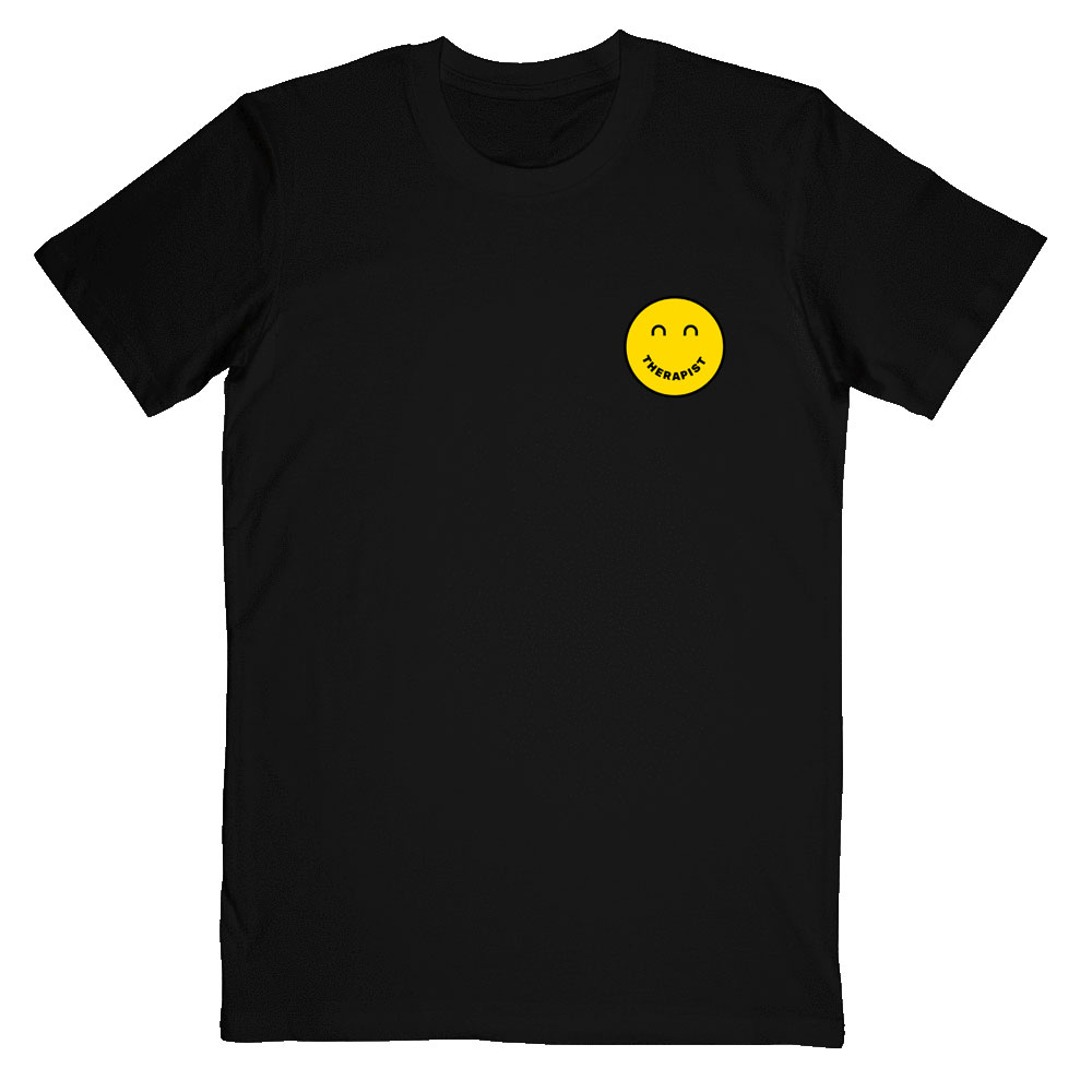 Mae Muller - Therapist Black Tee
