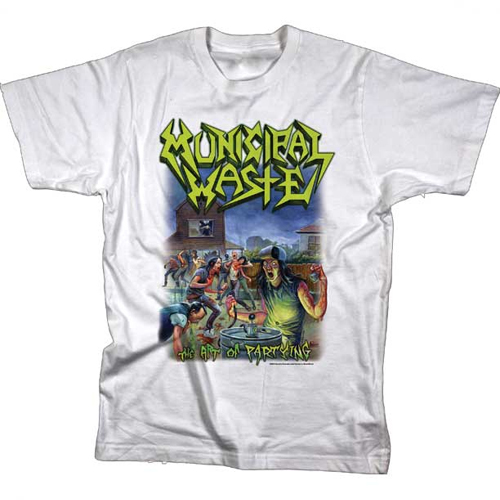 Municipal Waste - The Art Of Partying - White