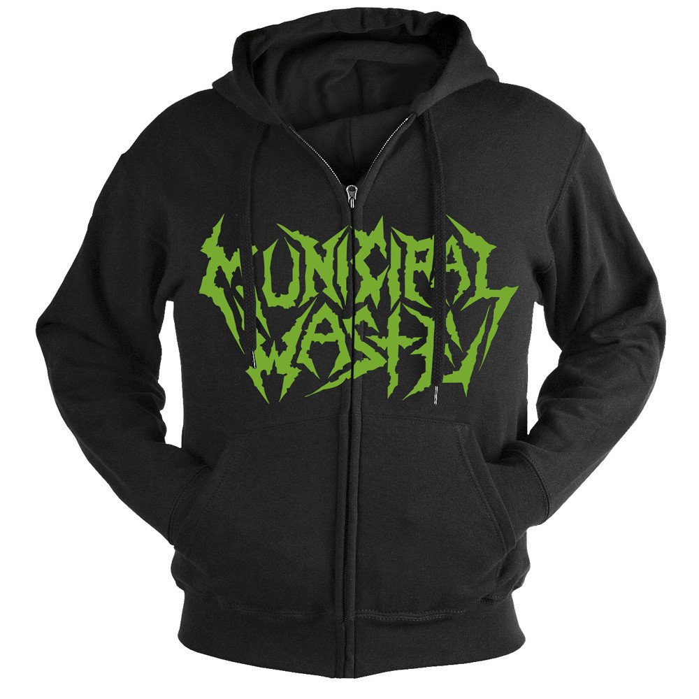 Municipal Waste - The Last Rager (Zip Hoodie)