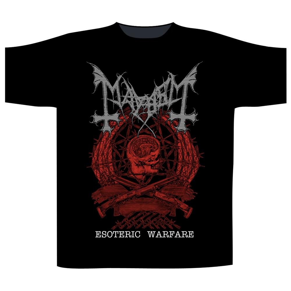 Mayhem - Esoteric Warfare Crest (Black)