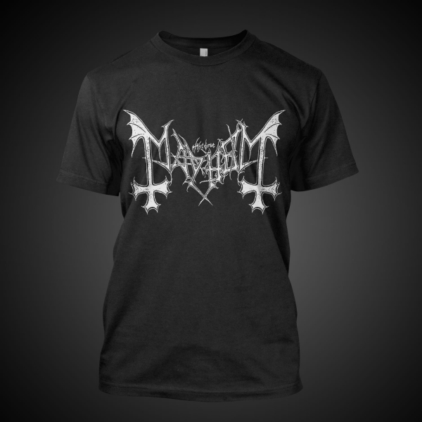 Mayhem - Logo (Black)
