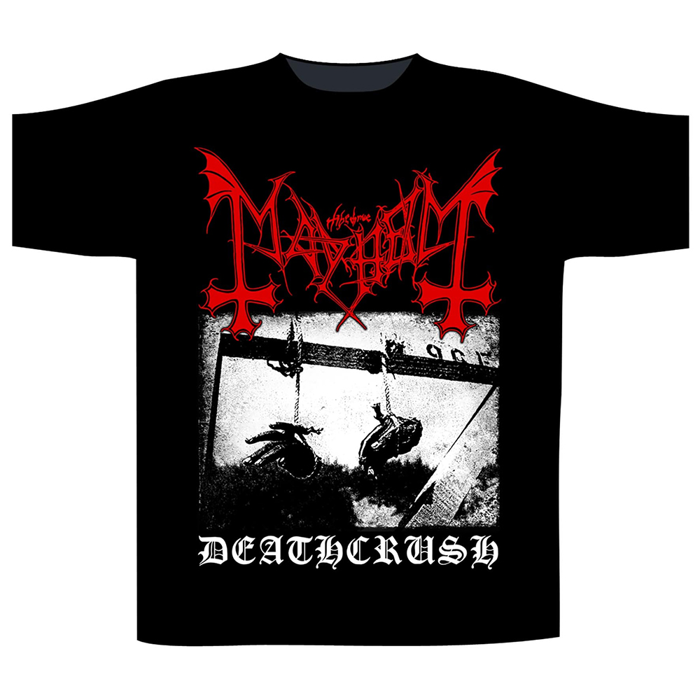 Mayhem - Deathcrush (Black)
