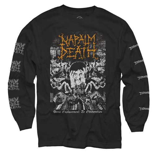 Napalm Death - From Enslavement To Obliteration (Longsleeve)