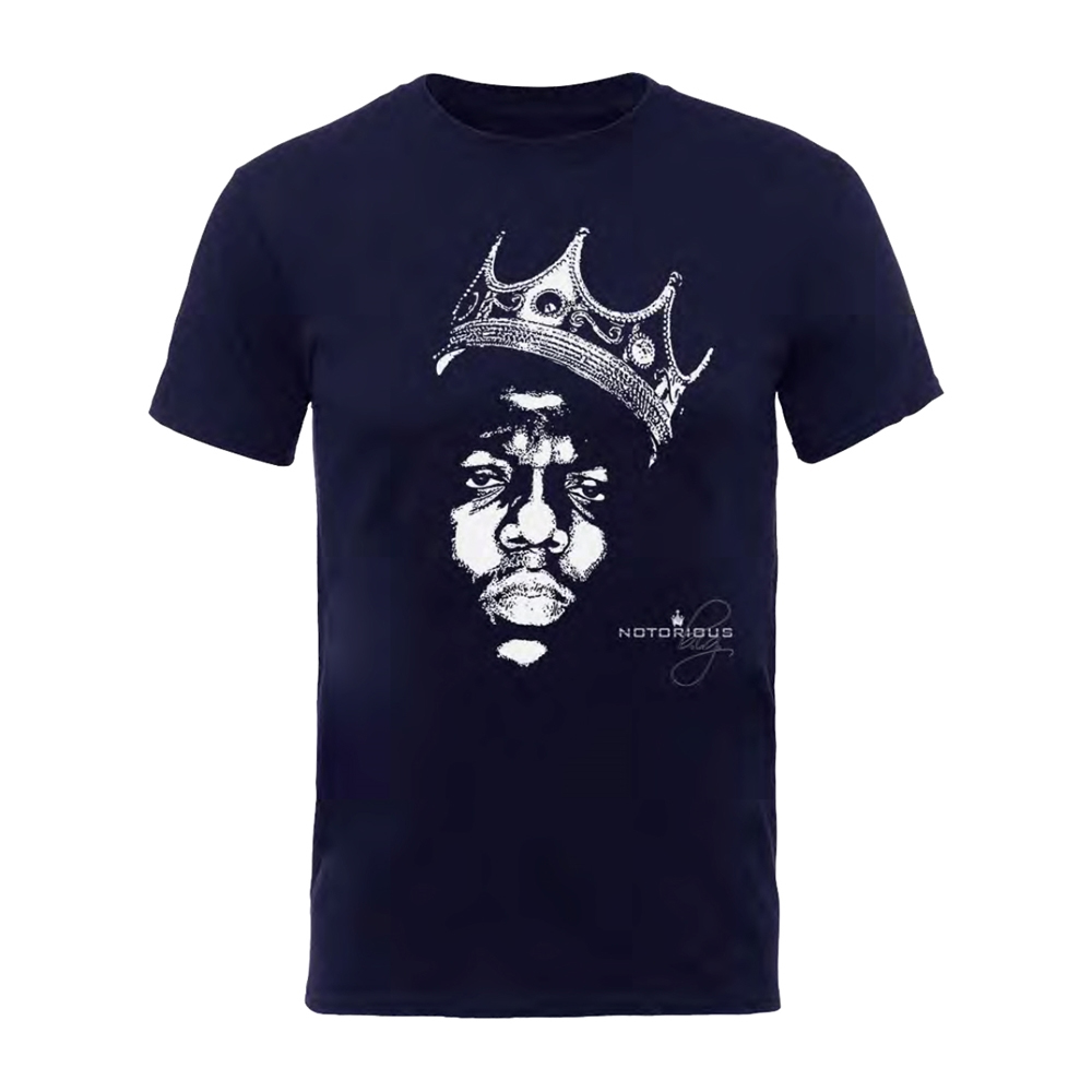 Notorious B.I.G. - Biggie Crown Face