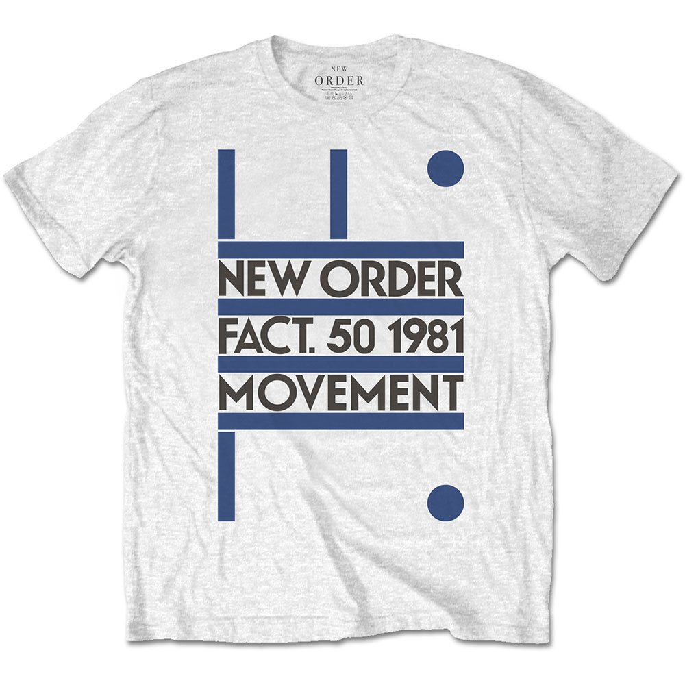 New Order - Movement (White)