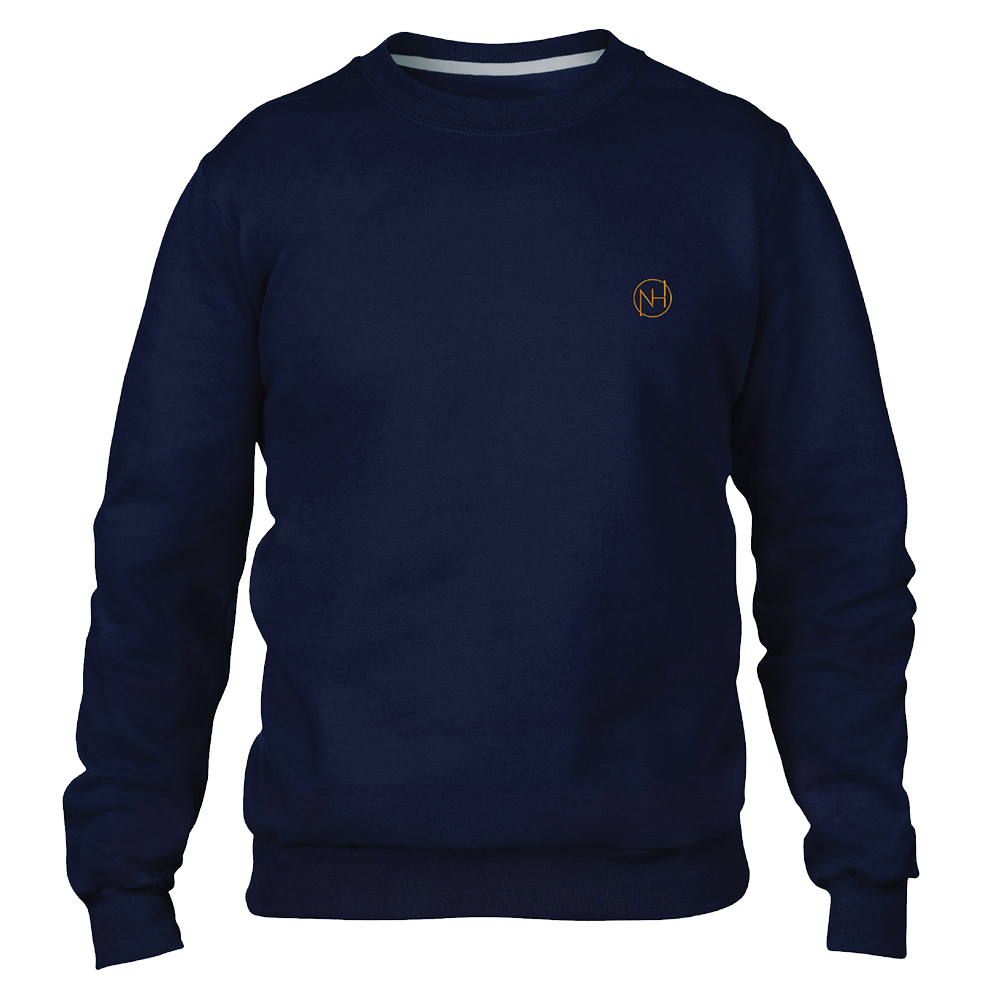 Niall Horan - Navy Embroidered Monogram Sweater (Web Exclusive)