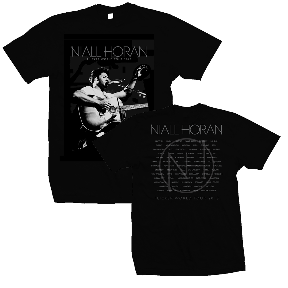 Niall Horan - Flicker 2018 Tour (Black)