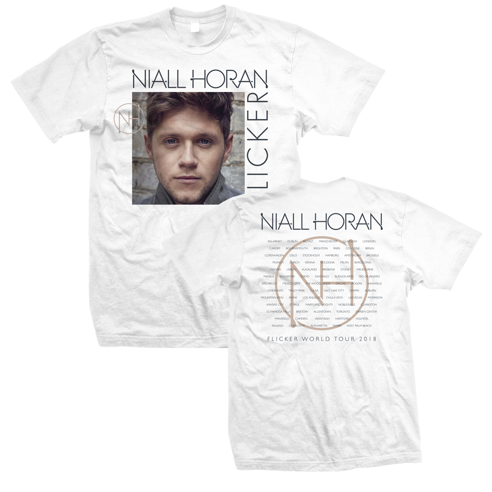 Niall Horan - Flicker 2018 Tour (White)