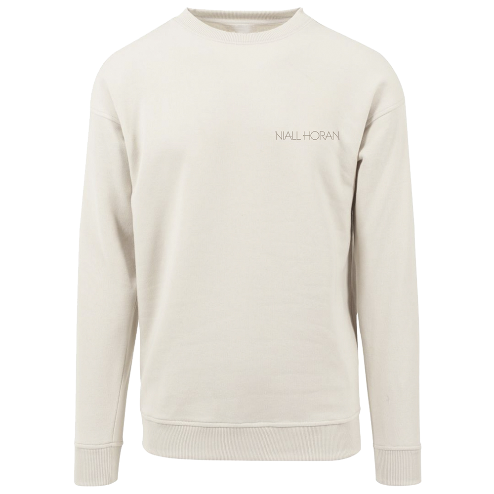 Niall Horan - Natural Embroidered Sweater