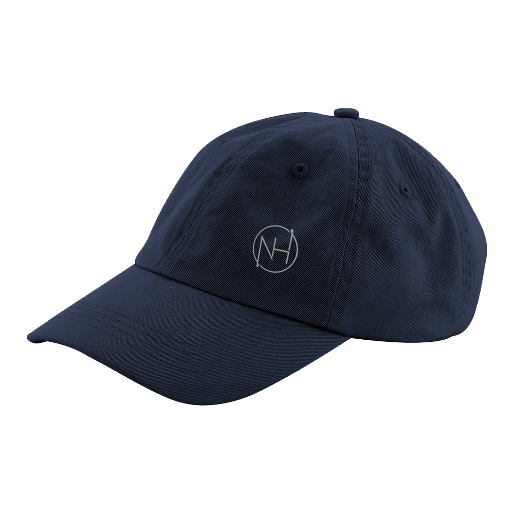 Niall Horan - NH Embroidered Navy Chino Cap