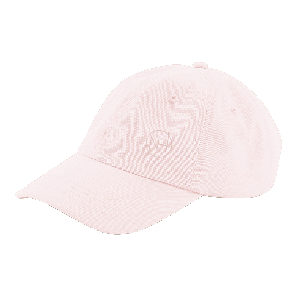 Niall Horan - NH Embroidered Pink Chino Cap