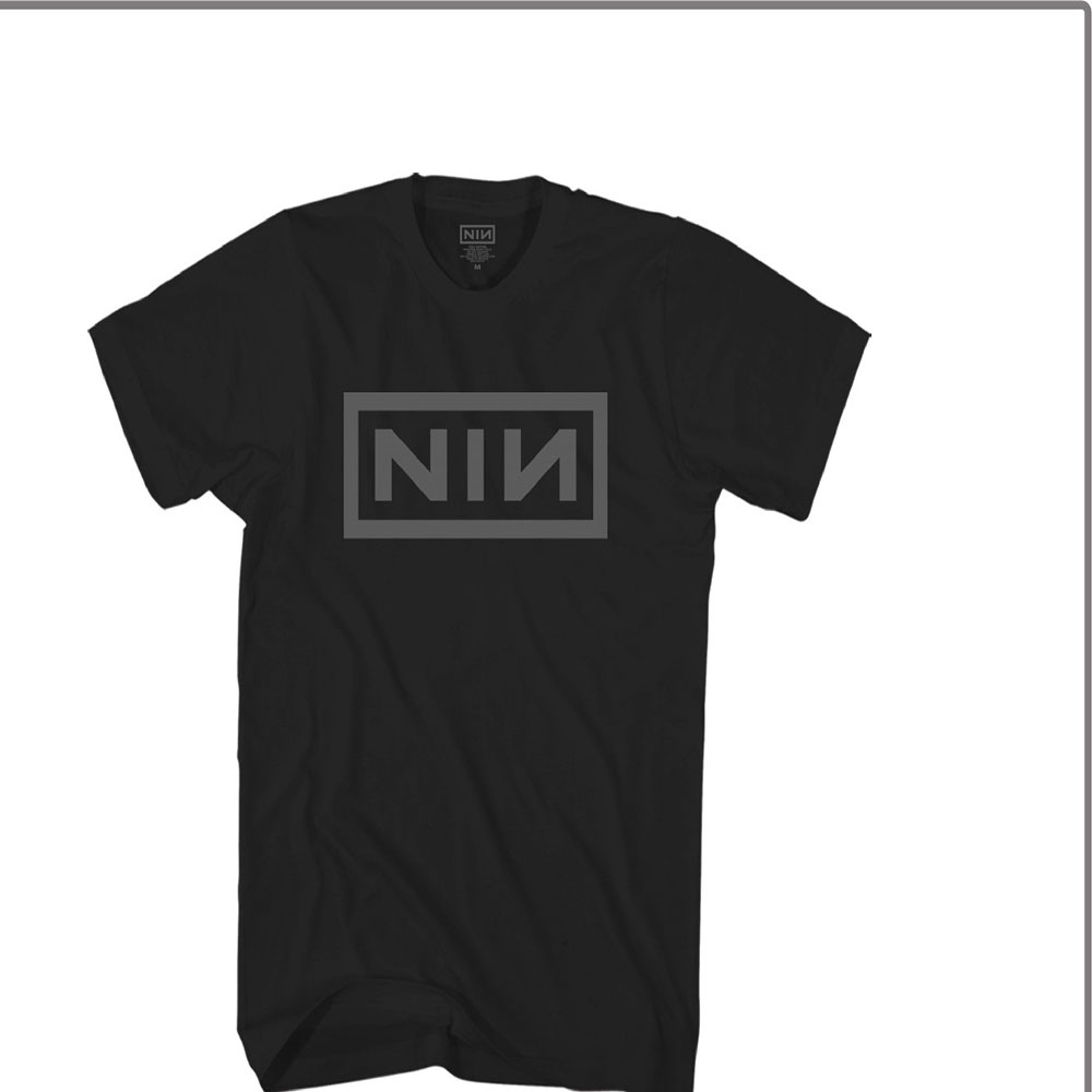 Nine Inch Nails - Grey Logo (Black)