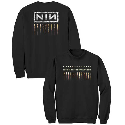 Nine Inch Nails - Downtown Spiral (Crew Fleece)