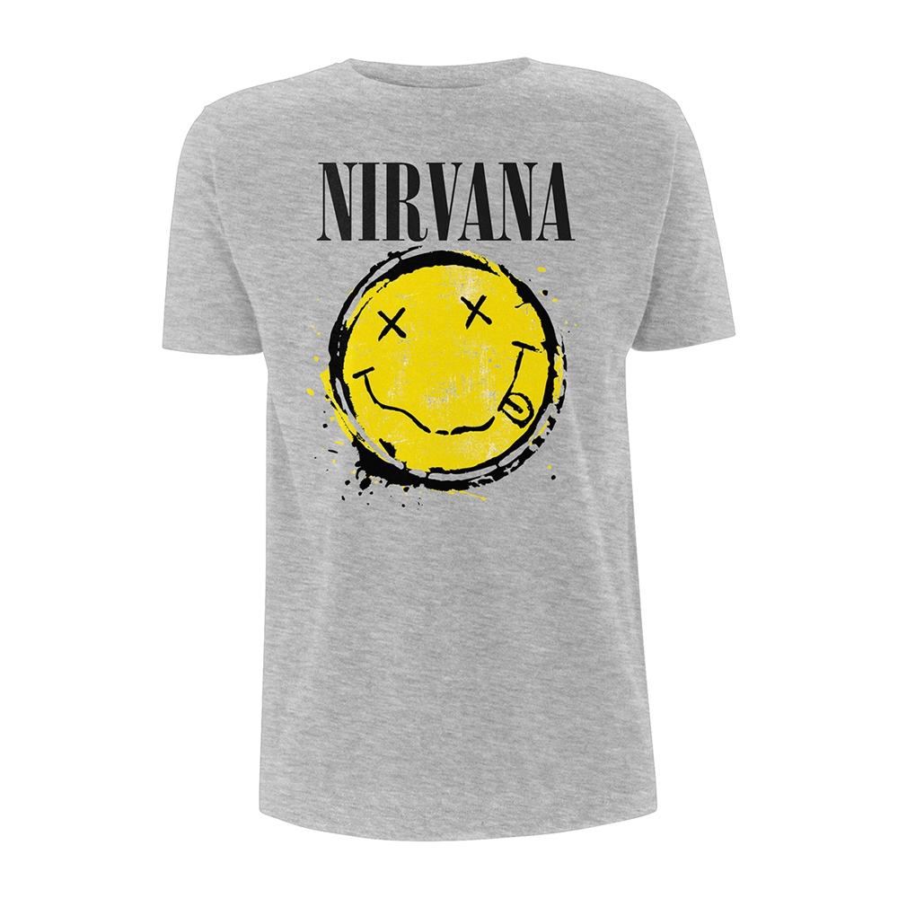 Nirvana - Smiley Splat