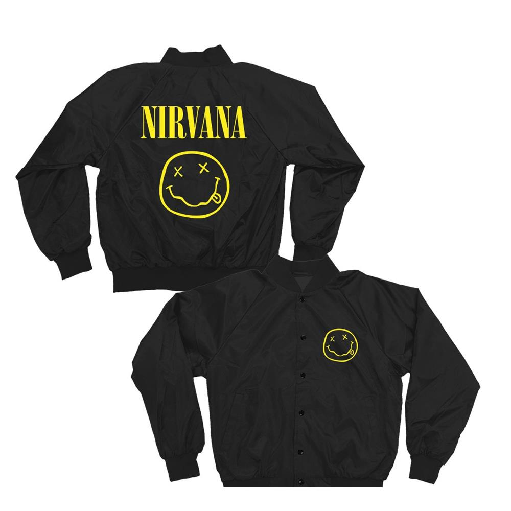 Nirvana - Smiley (Black)
