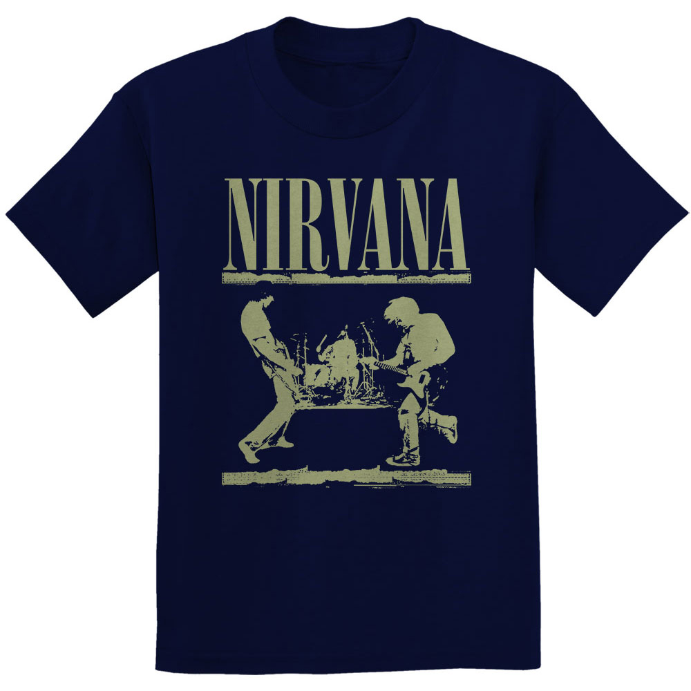 Nirvana - Stage (Navy Blue)
