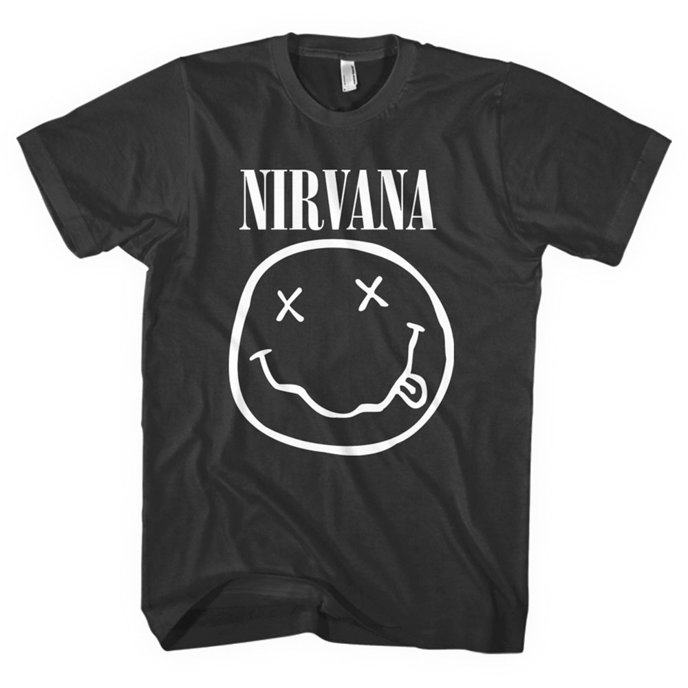 Nirvana - White Smiley