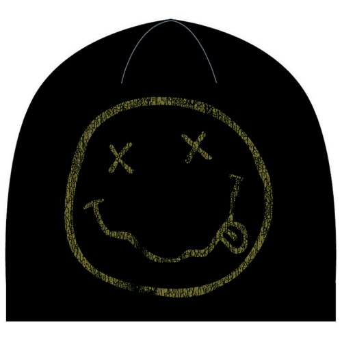 Nirvana - Smiley (Beanie Hat)