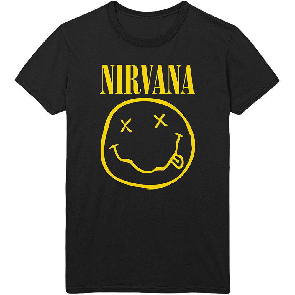 Nirvana - Flower Sniffin (Back Print)