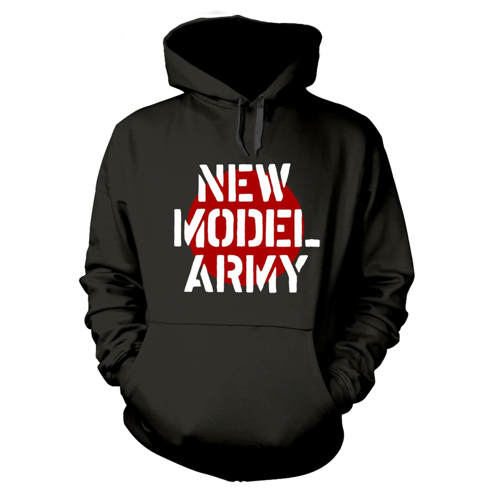 New Model Army - Logo (Black Hoodie)