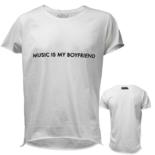 Nicole Moudaber - Majesty Black x Nicole Moudaber- Music Is My Boyfriend (White)