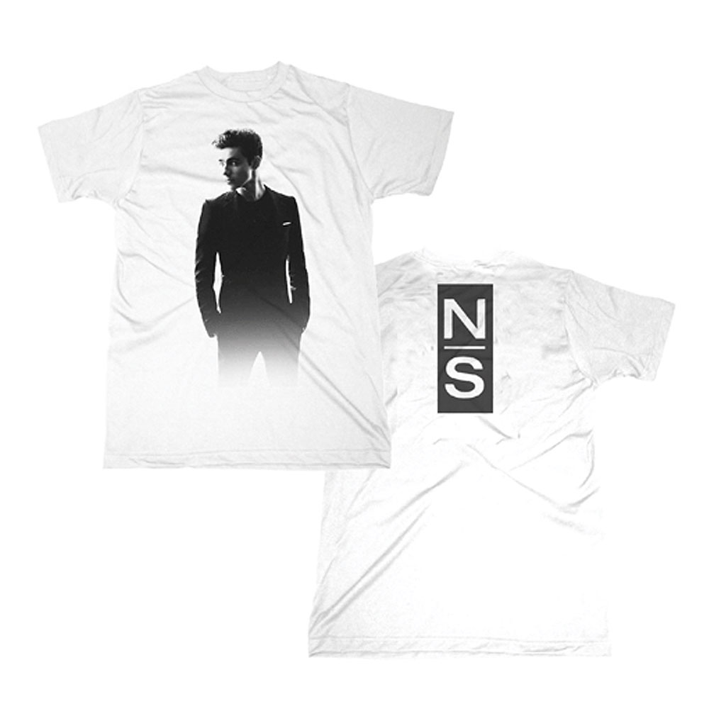 Nathan Sykes - Photo/Logo White T-shirt
