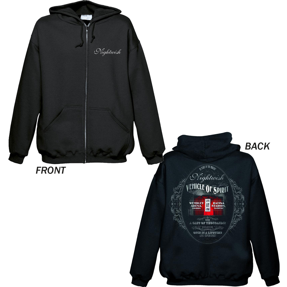 Nightwish - VOS Color (Zip Hoodie)